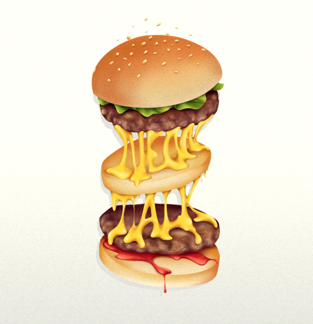 NEON_TALK_BURGER_dsorder_design